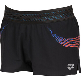 arena A-One Shorts Mujer, negro